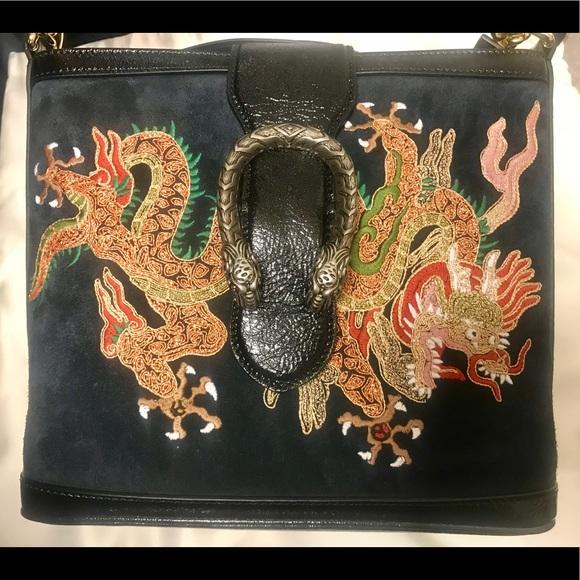 eab509e93d6 Authentic Gucci Dragon Dionysus Bucket Bag NEW